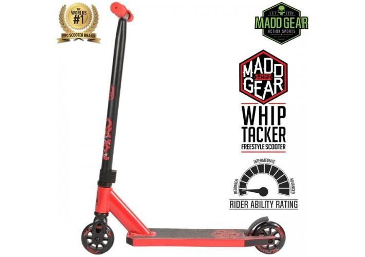 Тротинетка MGP Whip Tacker red/black