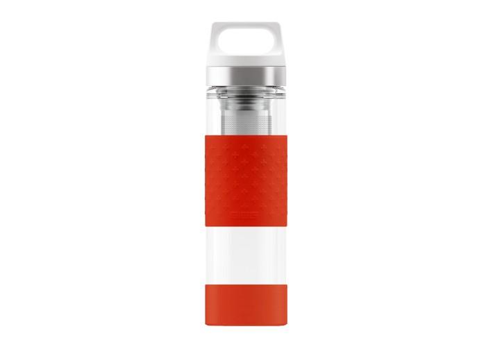 Термос Sigg H&C Glass 0.4L Red