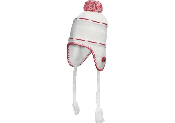 Дамска шапка SCOTT Flapper 12 grey white
